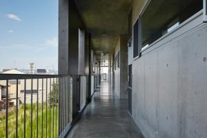 一級建築士事務所 こより:京都の集合住宅、カントK